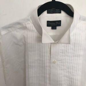 Christian Dior men's button up shirt size 16-35
